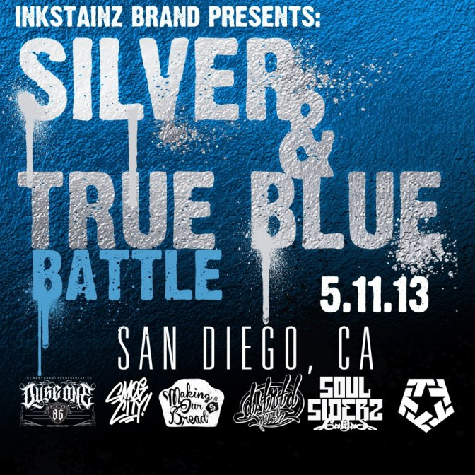 SILVER TRUE & BLUE BATTLE IN SAN DIEGO CA.