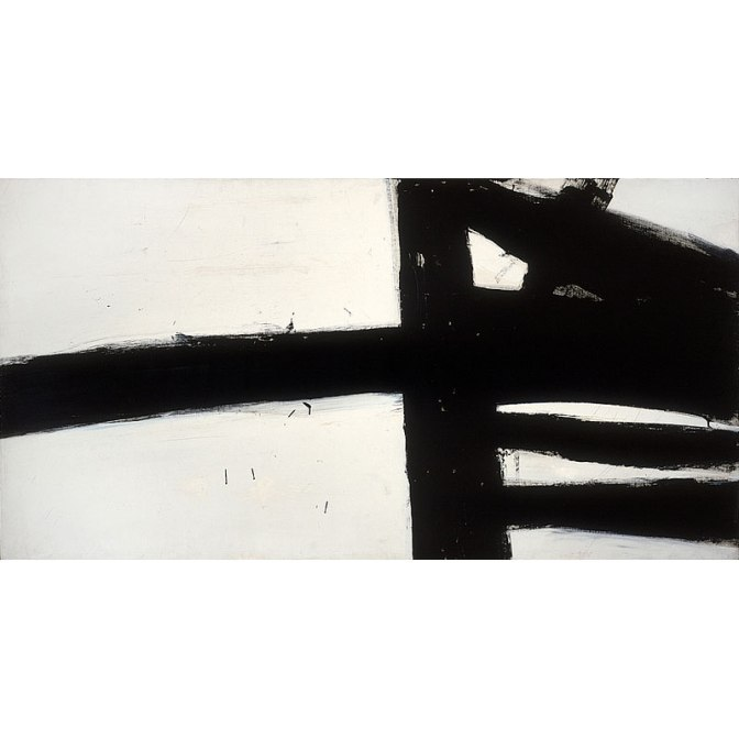 """Franz Kline """"My admiration for the Genuine Action Composer of Abstract Expressionism"""""""