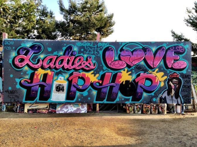 Ms. Unique @ BATTLEGROUNDZ Graff Expo Event!