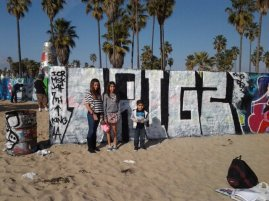 VENICE BEACH WITH TRIGZ KIDS 2012