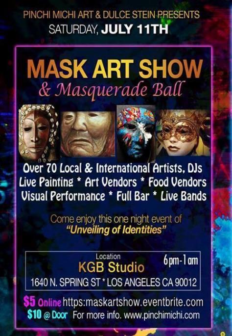 KGB STUDIOS MASK-ART SHOW