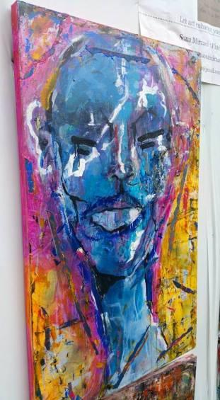 SONA MIRETI MASK ART SHOW MONICA SMILES TOBON