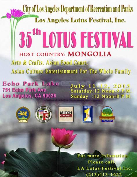 35th lotus festival