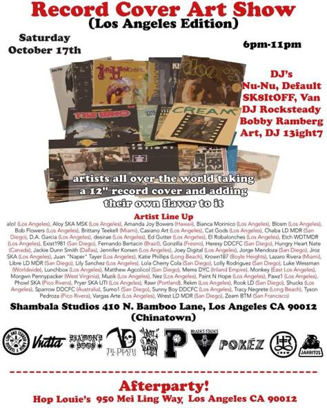 RECORD COVER ART SHOW-