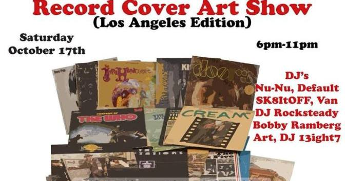 Record Cover Art Show- The L.A Edition