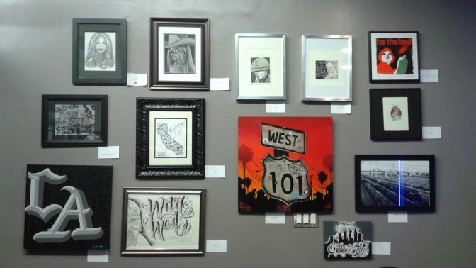 """Recap of """"The Wild West Art Show"""" @ La Vida Tattoo Shop"""