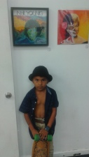 Angel with his Piece