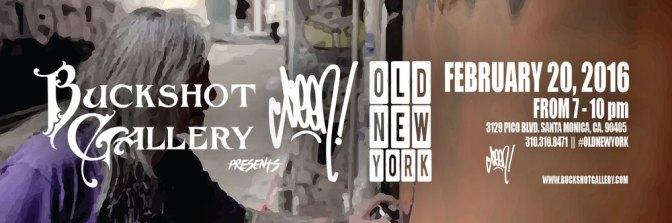 """Buckshot Gallery presents Seen; """"Old New York"""" Exhibit!"""