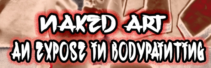 "Live On Camera Media Group presents ""Naked Art; An exposed in Bodypainting"" book!"