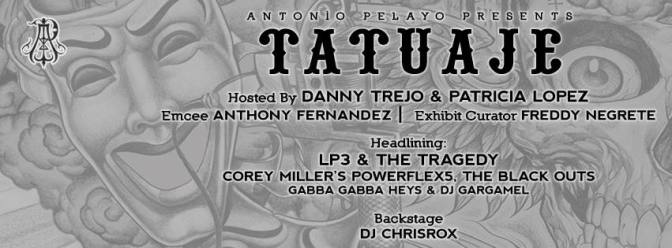Antonio Pelayo presents Tatuaje 2016 !