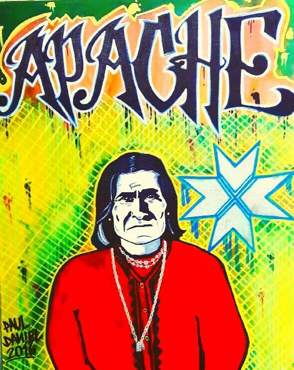 Paul Daniel Apache Art
