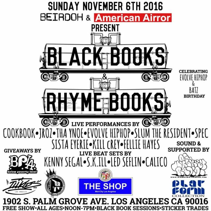 blackbooks and rhymebooks