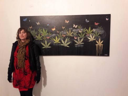 CANNABIS ART SHOW-MONICA SMILES TOBON