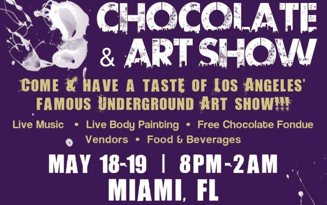 Chocolate & Art Show: Miami Edition