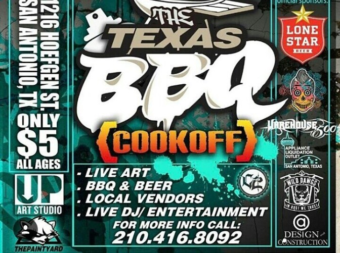 Up Art Studio & TPY present:The Texas BBQ Cookout!