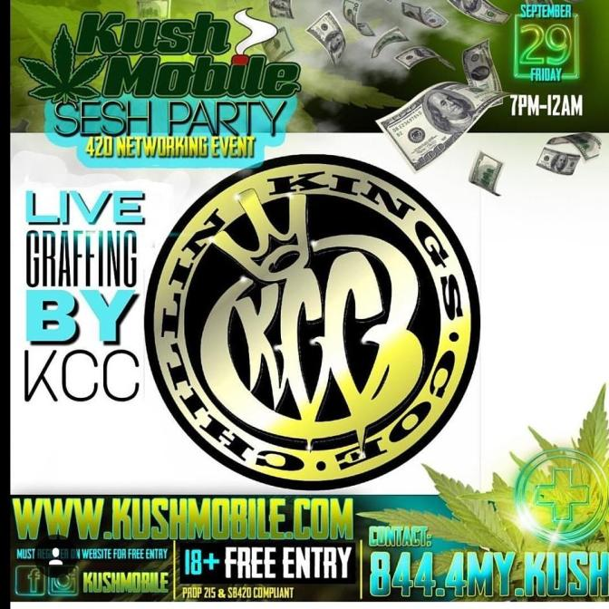 Kush Mobile Sesh Party-