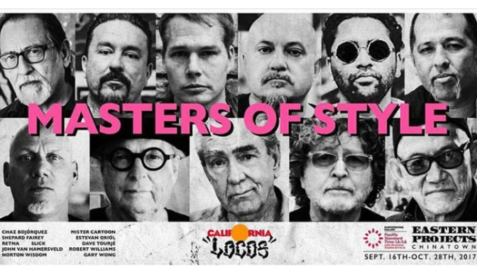 "HAPPENING TONIGHT ""LOCOS"" MASTERS OF STYLE"