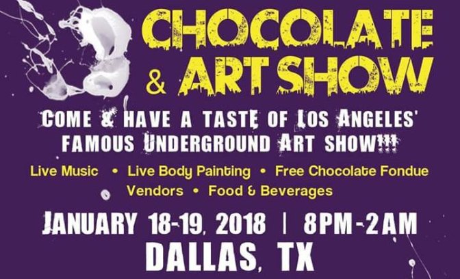 Chocolate and Art Dallas Edition