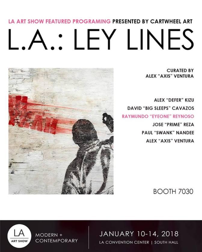 L.A.: LEY LINES~CARTWHEEL ART